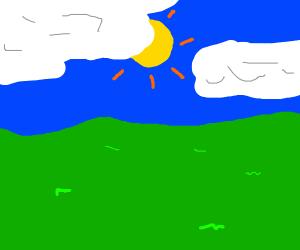 A peacful plain