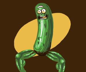 Pickle Rick has legs