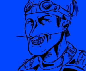 Lazy town blue superhero