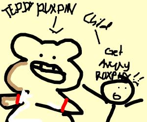 Teddy Ruxpin haunts children