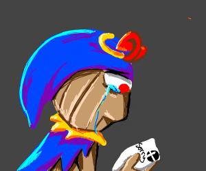 Geno got rejection letter from Smash Bros