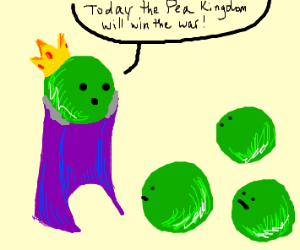 King of the Peas