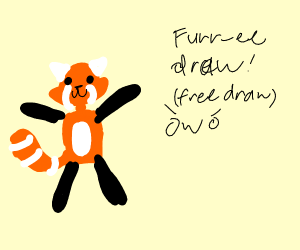Furr-ee draw!