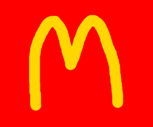 Making you fat(McDonald's logo m)