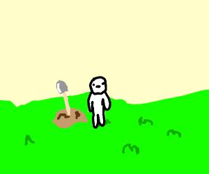 Planting a Shovel