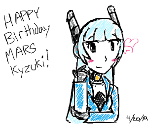 happy birthday to Mars Kyzuki