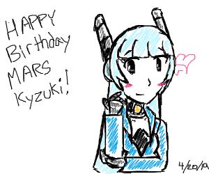 happy birthday to Mars Kyzuki