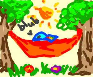 Rainbow Trout in a Hammock