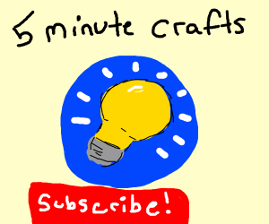 forget PewDiePie or TS, Sub 2 5-Minute Crafts