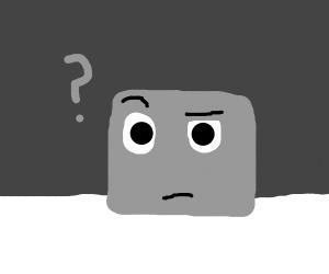 confused metal cube