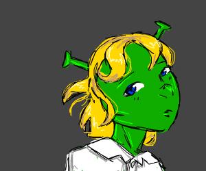 Shrek but with lUciOs LocKs
