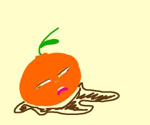 orange inkling dies
