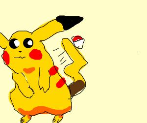 Pikachu Refuses pokeball
