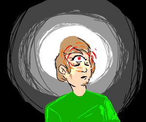 Shaggy Watches with his 3rd eye