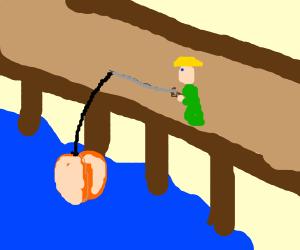 Reeling in a Peach