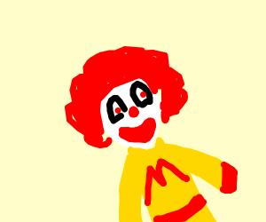 Mcdonalds man