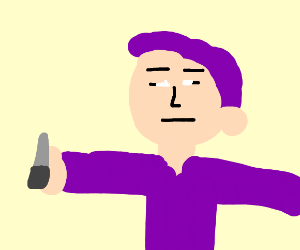 Purple Guy as normal human