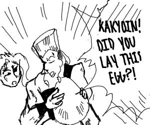 Kakyoin lays an egg (JOJO BIZZARE ADVENTURE)