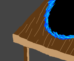 Portal on a table
