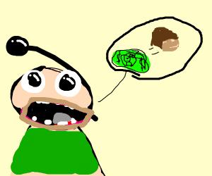 Man saying money is bread