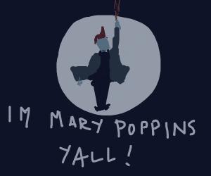 Yondu is marry poppins, y'all