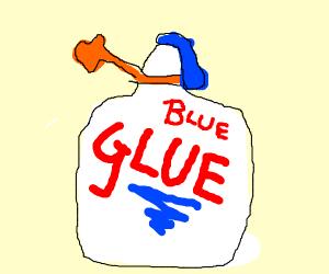 Blue glue