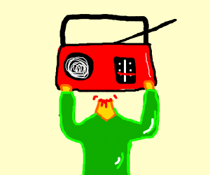 radiohead taking off its head
