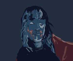Blue Bloody Woman