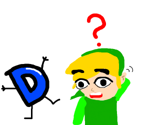 Link is confused about Drawception