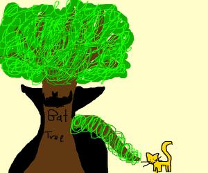 bat-tree saves the day