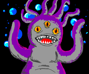 Tentalus but with more eyes