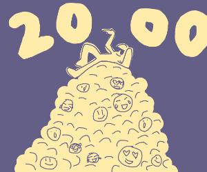2000 emotes! Congrats!
