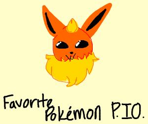Fave Pokémon P.I.O. (Pass It On)