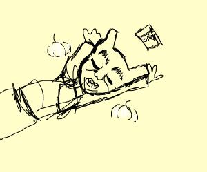Shred overdosing on onions