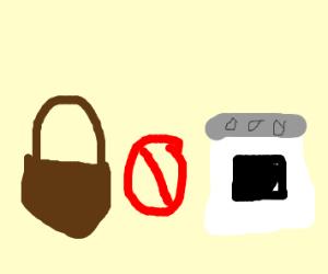 Basket and oven get a divorce