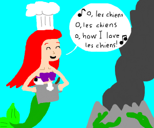 chef mermaid