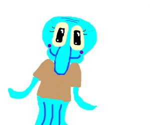squidward is too cute