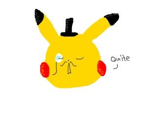 Dapper pikachu