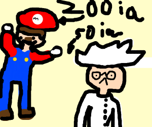 Mario Is smarter than Einstein