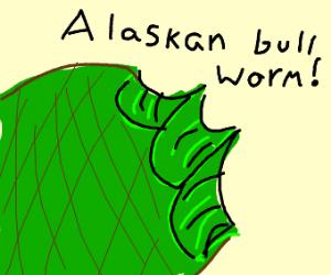 man gets eaten by alaskan bull worm