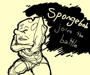 spongebob in smash bros