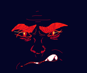 Intense Face