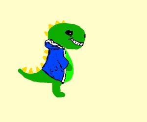 sans dinosaur