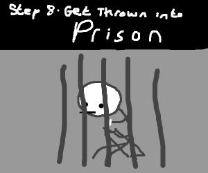 Step 7: murder innocent civilians