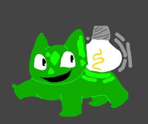 Lightbulbasaur!