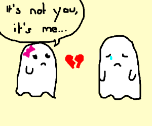 ghost breakup </3