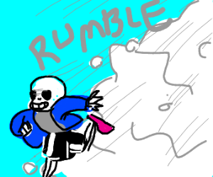 Sans runs from avalanche