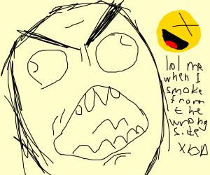 Epic troll rage face xd