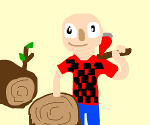 are you ok reatard? i am wood  stupid  - Drawception