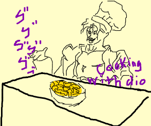 cooking with dio